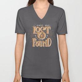 Lost + Found Unisex V-Neck