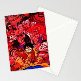 mugiwara no luffy Stationery Cards