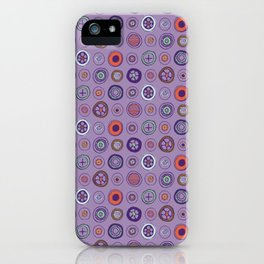Dots in Lavender iPhone Case