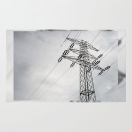 Electric power transmission Rug