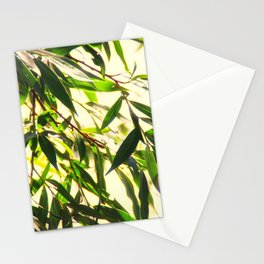 Bamboo for relaxation Stationery Cards