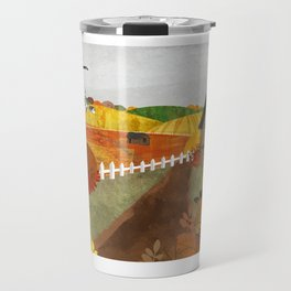 Autumn Village Travel Mug