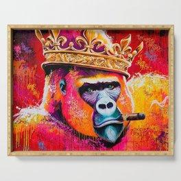 KING--GORILLA Serving Tray