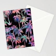Maui Palm {Black} Stationery Cards