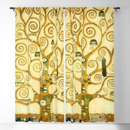 "Gustav Klimt ""Tree of life"" Blackout Curtain"