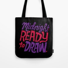 Midnight: Ready to Draw Tote Bag