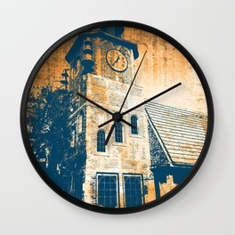 Retro Clock Tower Wall Clock
