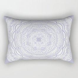 Dedication to Lucy (purple) Rectangular Pillow