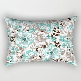 Mint relaxation Rectangular Pillow