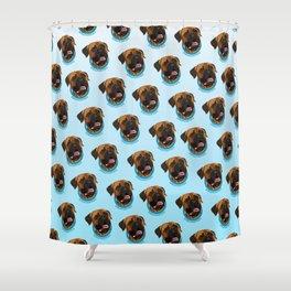 Bullmastiff Print Shower Curtain