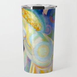 """Robert Delaunay """"Nu à la toilette (Nu à la coiffeuse)"""" (Musée 'Art Moderne de la Ville de Paris) Travel Mug"""