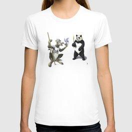 Donkey Xote and Sancho Panda (Colour) T-shirt