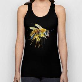Watercolor Bee Unisex Tank Top