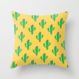 Pattern #13 B: Cactus Throw Pillow