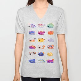Sea Slug Day Unisex V-Neck