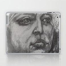 Pencil Sketch of Female Face/Portrait. Graphite Laptop & iPad Skin