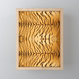 Tiger Animal Print Framed Mini Art Print