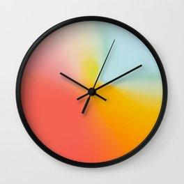 Abstract Gradient No. 12 Wall Clock