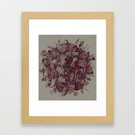Feuillages II Framed Art Print