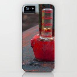 Oil Tank Gauge iPhone Case