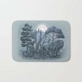 Midnight in the Stone Garden (colour option) Bath Mat