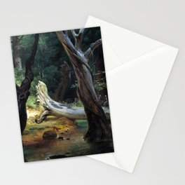 Horace Vernet Departure for the Hunt in the Pontine Marshes Stationery Cards
