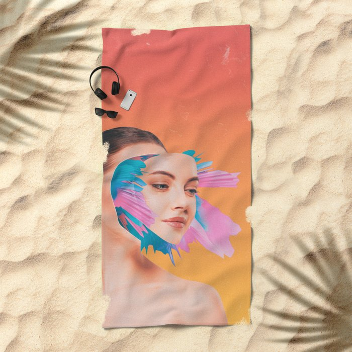 All Out Of Bubblegum Beach Towel