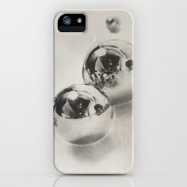 Metal ball iPhone Case