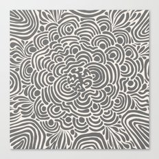 Primitive Pattern Canvas Print
