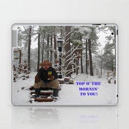 Top o' the Mornin' to you Laptop & iPad Skin