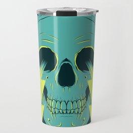 Lightning Skull Travel Mug