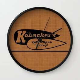 Kobacker's Department Store Wall Clock