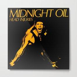 band rock tour midnight oil  Metal Print