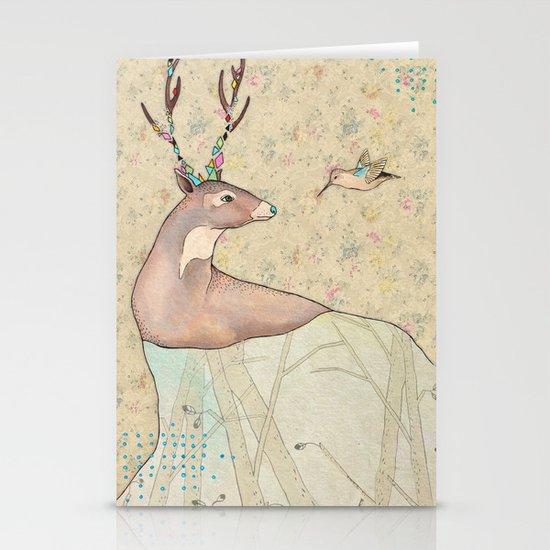 ...tener un bosque dentro. Stationery Cards