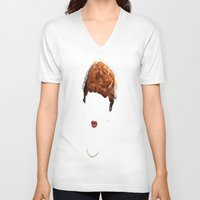 lucy V-neck T-shirts featuring Lucy by Bethany Mallick