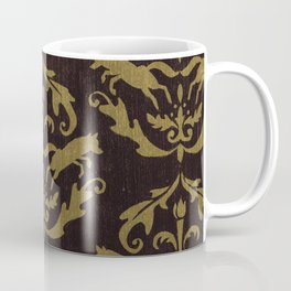 Fox Damask Coffee Mug