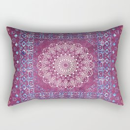 Old Bookshop Magic Mandala Rectangular Pillow