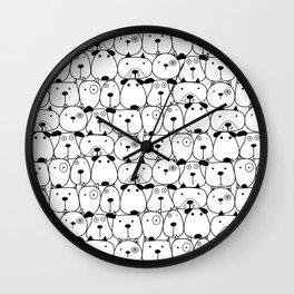 Cute Dogs Wall Clock