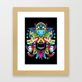 Insightful Peace Framed Art Print