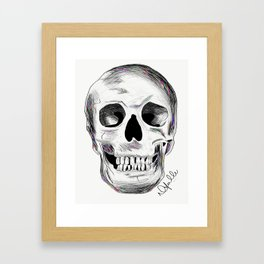Pirate Skull Framed Art Print