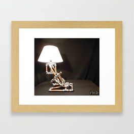 Articulated Desk Lamps - Copper and Chrome Collection - FredPereiraStudios_Page_18 Framed Art Print