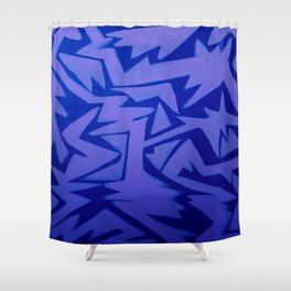 Electric Pop Shower Curtain