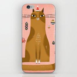 WHISKER TREE iPhone Skin