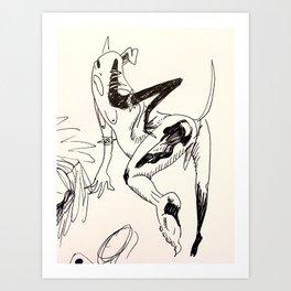 Mutt  Art Print