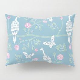 Spring Peacocks Pillow Sham