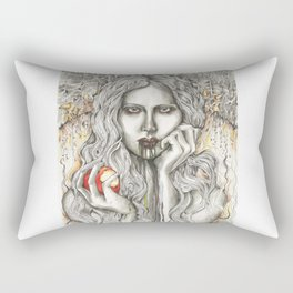 Bad Snow White Rectangular Pillow