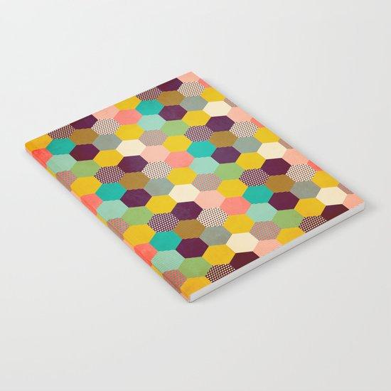 Fun Hexagon Notebook