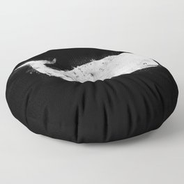 Bleached Whale Floor Pillow