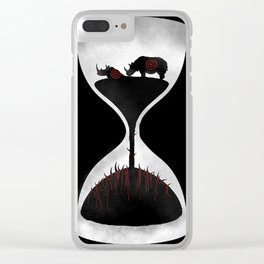 Rhino Time Clear iPhone Case