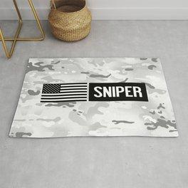 U.S. Military: Sniper (Arctic) Rug